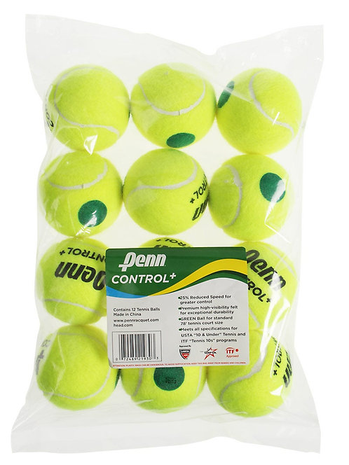 Penn Control+ Green Dot Balls (12-Pack)
