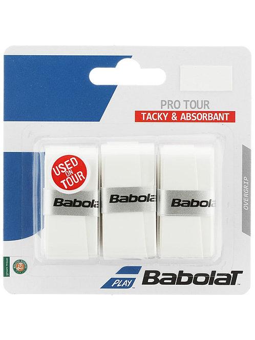 Babolat Pro Tour Overgrip (White)