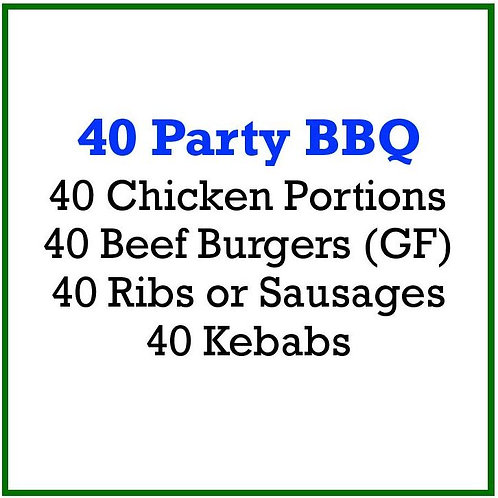 40 Party BBQ Pack