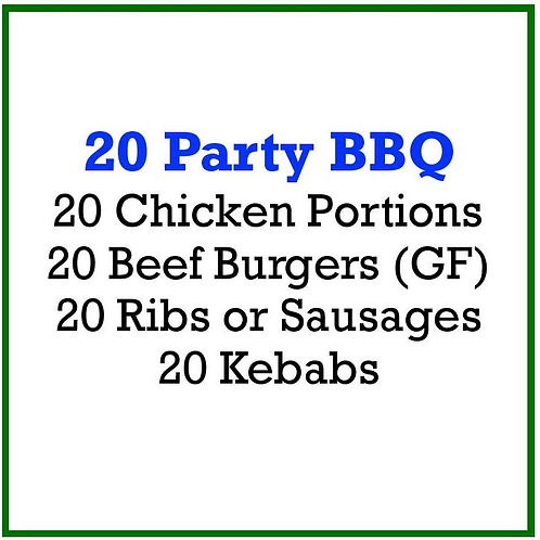 20 Party BBQ Pack