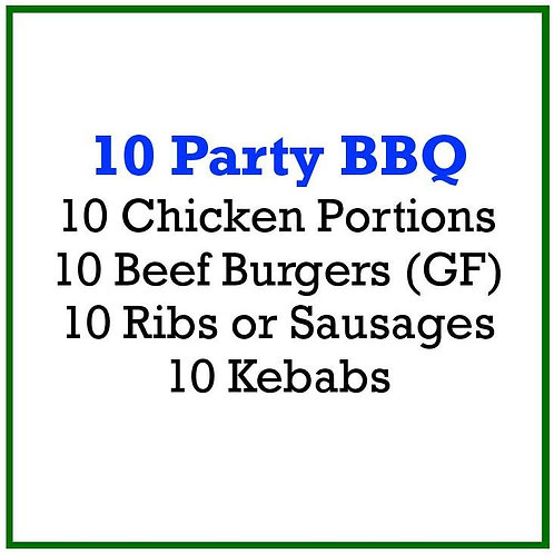 10 Party BBQ Pack