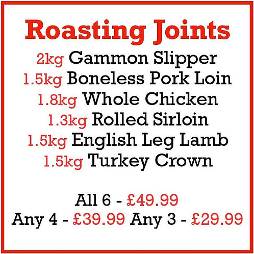 Roasting Joints Selection