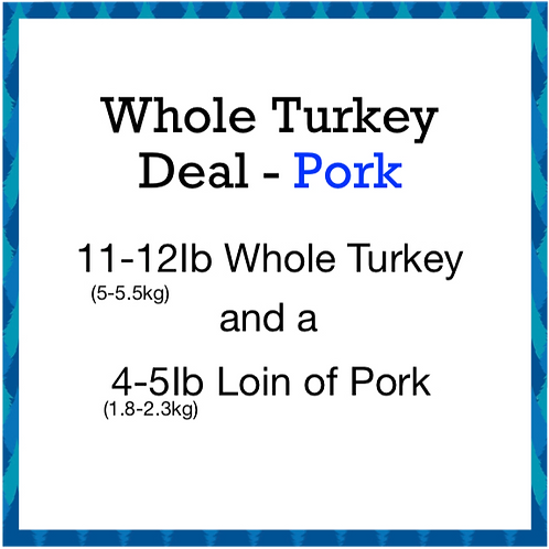 Whole Turkey Deal 1