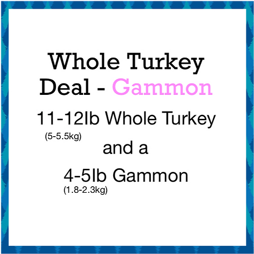 Whole Turkey Deal 2