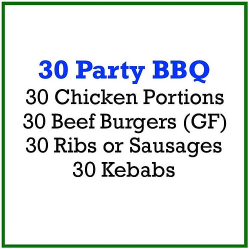 30 Party BBQ Pack
