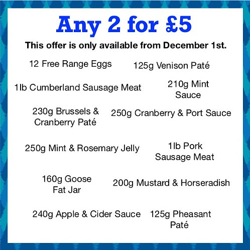 Any 2 for £5
