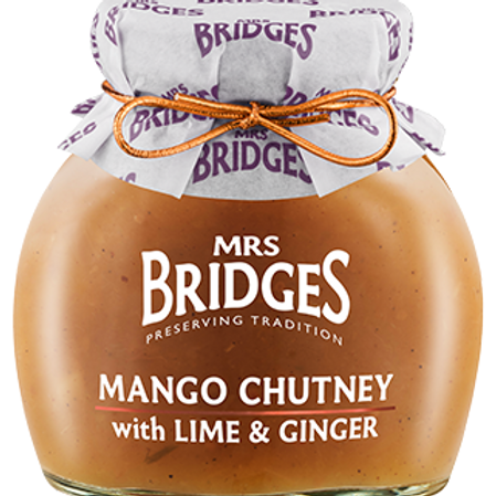 Mango Chutney with Lime & Ginger