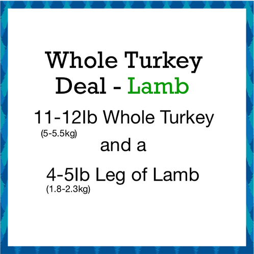 Whole Turkey Deal 4