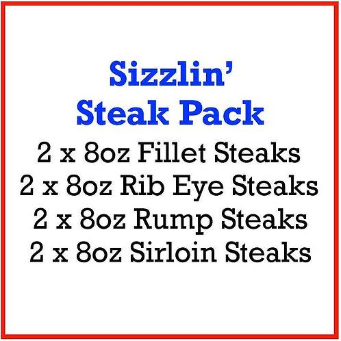 Sizzlin' Steak Pack