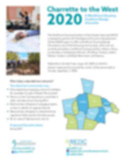 Charrette to the West 2020 New Deadline