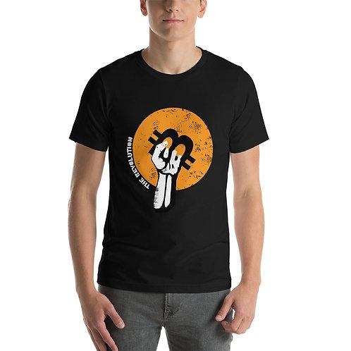 Bitcoin revolution Short-Sleeve Unisex T-Shirt