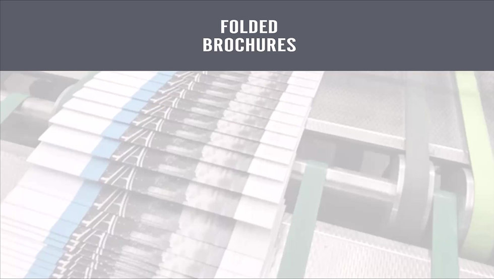 Saddle-Stitch Brochures