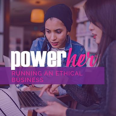 Running an Ethical Business