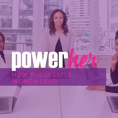 How Successful Women Lead