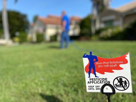 Lawn Spray Hero Pest Solutions