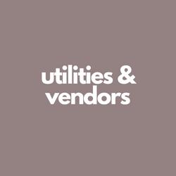 Utilities & Vendors
