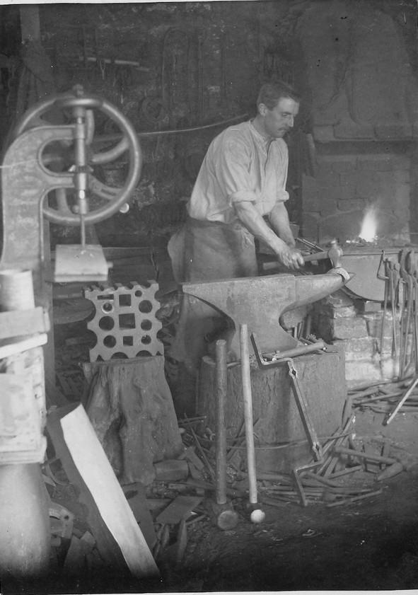 Mr Jeffs - The Blacksmith