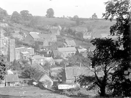 Village from top of Holloway