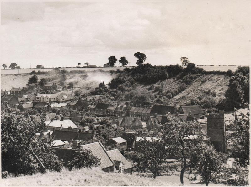 Village view from allotments direction