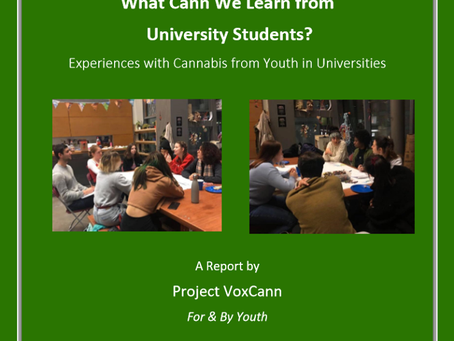 Report on VoxCann x CSSDP Roundtable: Experiences with Cannabis from Youth in Universities