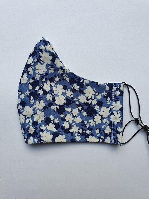 Navy Blue Floral