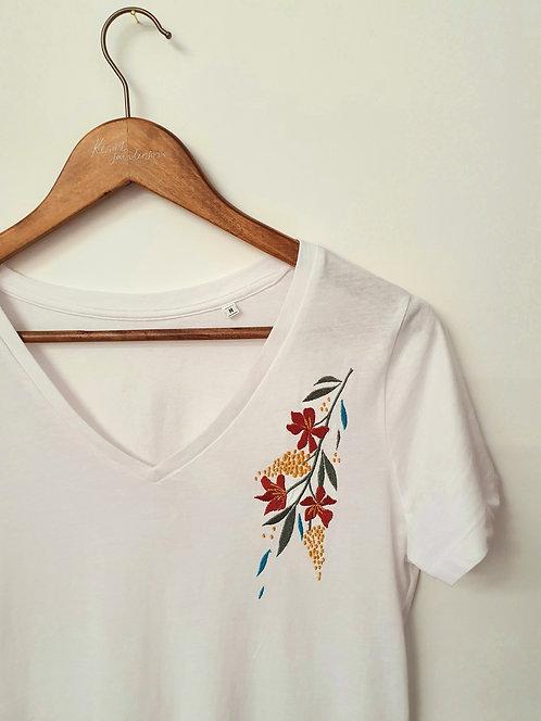 Organic Cotton Floral T-shirt