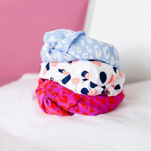 Silk and Cotton Headband Set