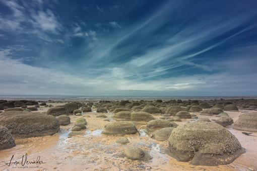 Hunstanton Beach Stone Formations
