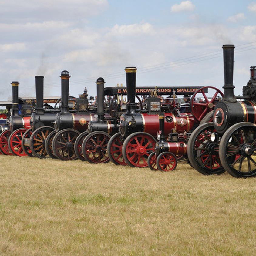 Sun 14th July - Cambridgeshire Steam Rally