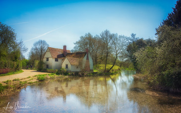 Willy Lotts Cottage, Flatford Mill, Suffolk.