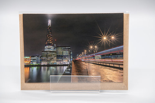 A6 Greetings Card The Shard London