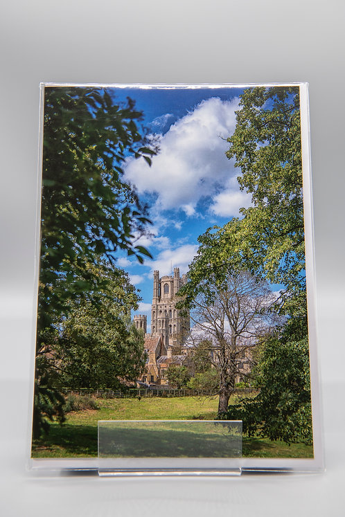A5 Greetings Card Ely Cathedral