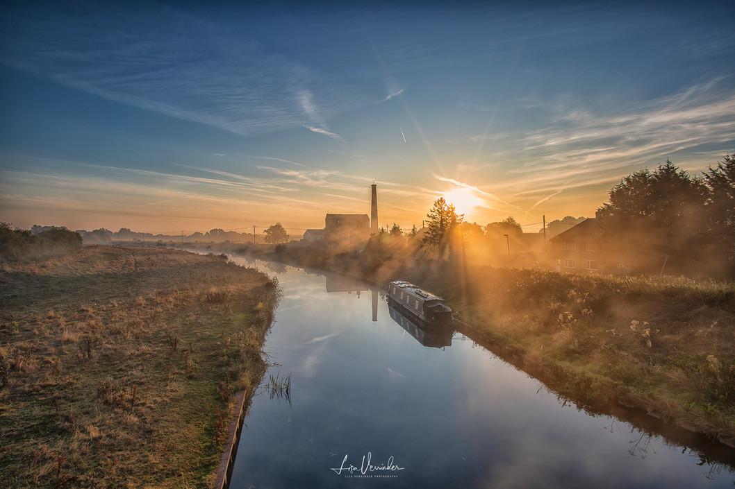 Stretham Old Engine at Sunrise