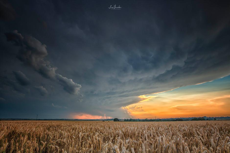 Stormy Fenland Skies