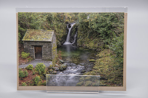 A6 Greetings Card Rydal Hall Gardens Cumbria