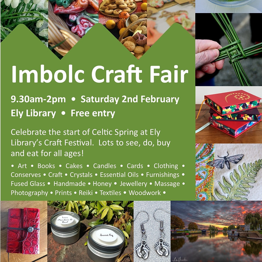 Ely Cambs Library Craft Fair