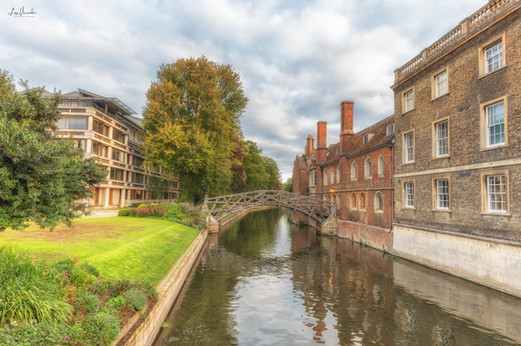 Mathematical Bridge, Queens College Cambridge