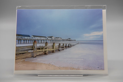 A6 Greetings Card Southwold Pier