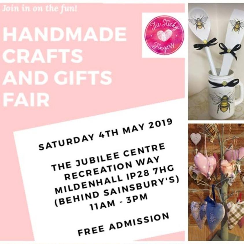 Sat 4th May Craft Fair Mildenhall Jubilee Centre