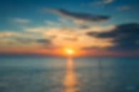 Sunset over a Norfolk Coastline