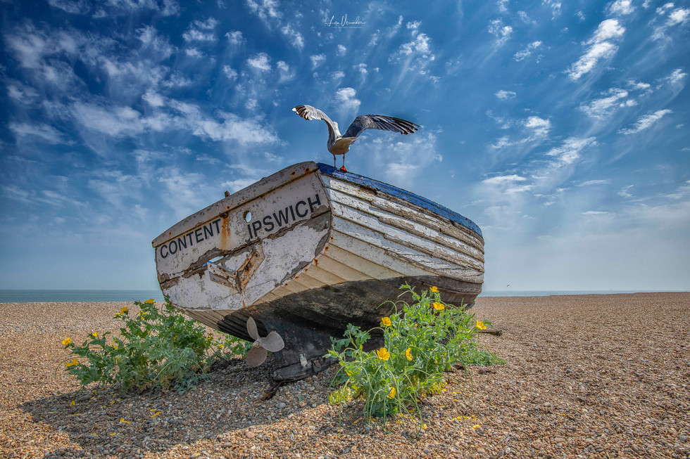 Aldeburgh Suffolk Boat