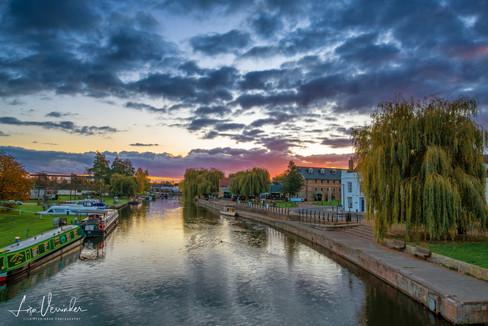 Ely Riverside Sunset