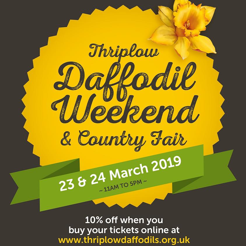 Sun 24th March - Thriplow Daffodil Weekend and Craft Fair
