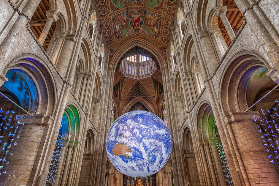 Heaven & Earth - Luke Jerram's 'Gaia' in Ely Cathedral