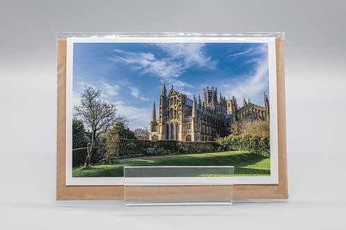 A6 Greetings Card Ely Cathedral