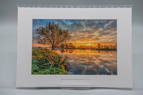 Ely Riverside Sunrise Reflections