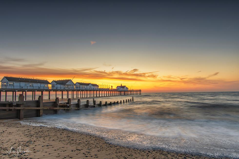 Southwold Pier Pre Sunrise