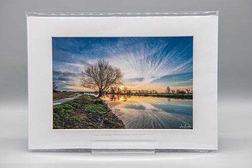 Winters Sunrise Ely Riverside