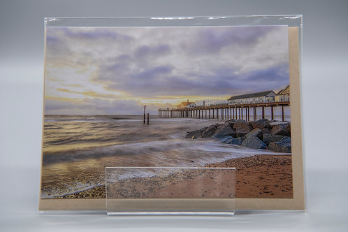 A6 Greetings Card Southwold Pier Suffolk