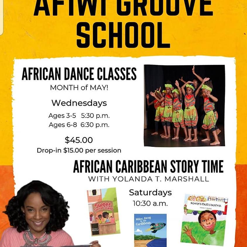 AFIWI Groove School Cultural Dance and Arts programme